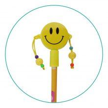 خودکار فانتزی طرح ایموجی لبخند آویز دار