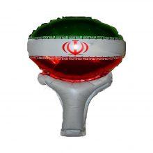 بادکنک فویلی طرح پرچم ایران